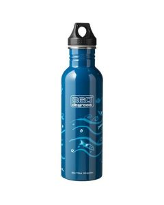 360 Degrees 750ml Stainless Steel Drink Canteen - Boat Blue