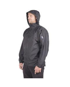 360 Degrees Stratus Waterproof Jacket - Black