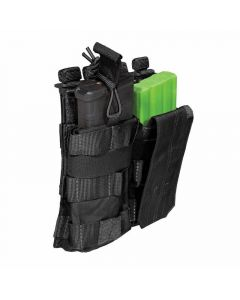 5.11 Tactical SlickStick Nylon Double AR Bungee/Cover Mag Pouch