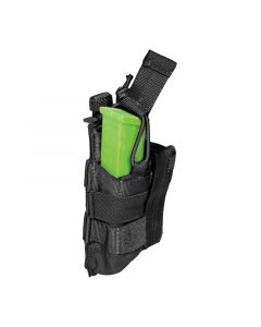 5.11 Tactical SlickStick Nylon Double Pistol Bungee/Cover Mag Pouch