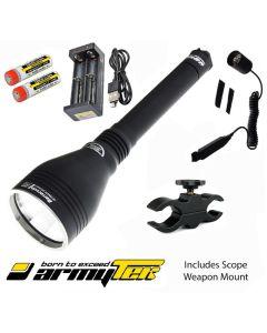ArmyTek Barracuda Pro 1390 Lumen LED Torch Kit