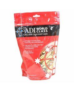 ADI 243 WIN Unprimed Brass Cases - 50 Pack