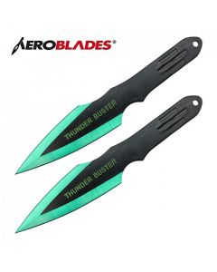 Aeroblades Thunder Buster Twin Knife Throwing Set