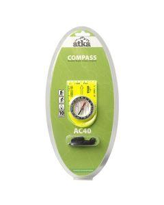 Atka AC40 Baseplate Compass With Lanyard