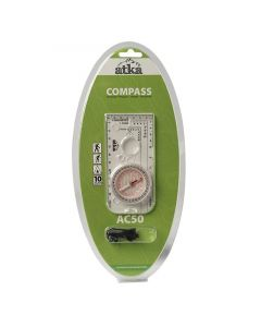 Atka AC50 Orienteering Baseplate Compass With Lanyard