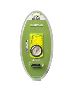 Atka AC60 Baseplate Compass With Lanyard