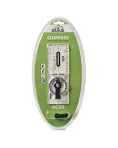 Atka AC90 Baseline Folding Compass With Lanyard
