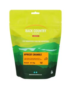Back Country Cuisine Apricot Crumble