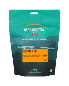 Back Country Cuisine Freeze Dried Beef Teriyaki