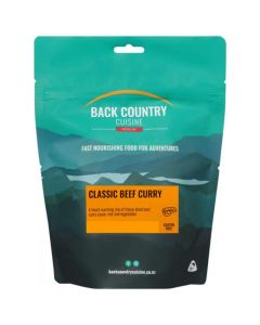 Back Country Cuisine Freeze Dried Classic Beef Curry