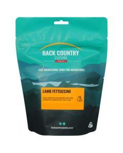Back Country Cuisine Freeze Dried Lamb Fettuccine