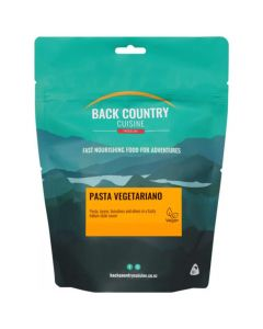 Back Country Cuisine Freeze Dried Pasta Vegetariano
