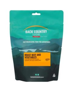 Back Country Cuisine Freeze Dried Roast Beef & Vegetables