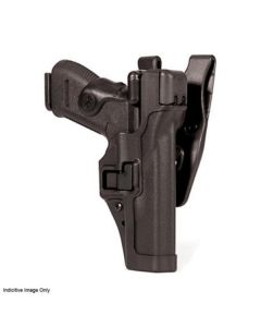 BLACKHAWK! SERPA LVL 3 Auto Lock Duty Holster - Suits H&K P2000 (US), Right Hand