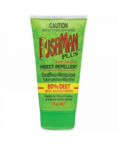 Bushman Plus Insect Repellent with Sunscreen 75g Tube