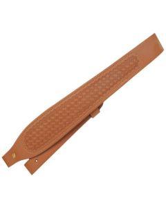 Butler Creek Cobra Tan Basketweave Leather Rifle Sling
