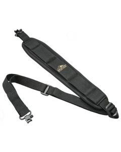 Butler Creek Comfort Stretch Rifle Sling With Swivels Black