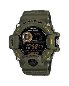 CASIO G-SHOCK Rangeman Triple Sensor Watch - Green