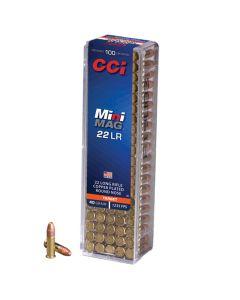CCI 22LR 40GR Mini-Mag High Velocity CPRN 1235FPS - 100 Pack