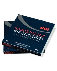 CCI Primer 350 Large Pistol Magnum C16 - 100 Pack