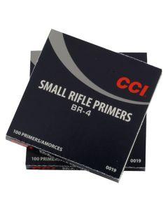 CCI Primer BR4 Small Rifle C19 - 1000 Pack