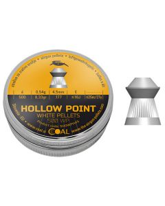 Coal Hollow Point Air Rifle Pellets .177 cal 8.33 gr - 500 Pack
