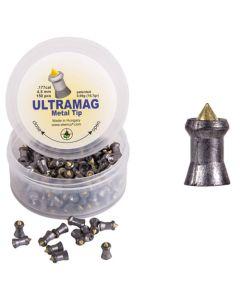 Coal Skenco UltraMag Metal Tip Air Rifle Pellets .177 cal 10.7 gr - 150 Pack