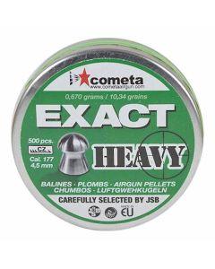 Cometa Exact Heavy Air Rifle Pellets .177 cal 10.34 gr - 500 Pack