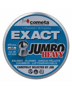 Cometa Exact Jumbo Heavy Air Rifle Pellets .22 cal 18.13 gr - 250 Pack