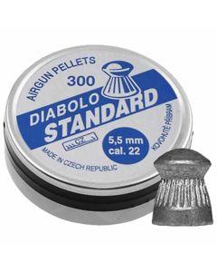 Diabolo Standard Air Rifle Pellets .22 cal - 300 Pack