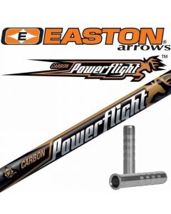 Easton PowerFlight Bare Carbon Arrow Shaft