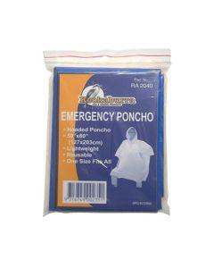 Elemental Hooded Lightweight Emergency Poncho