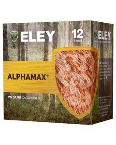 Eley Alphamax+ 12G 34GR SG Shot 1241FPS Game Cartridges - 25 Pack