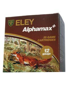 Eley Alphamax+ 12G 36GR 2 Shot 1298FPS Game Cartridges - 25 Pack