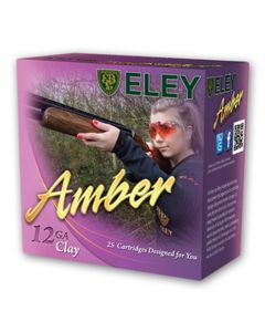 Eley Amber Pink 12G 24GR 7.5 1200FPS Competition Clay Cartridges - 25 Pack