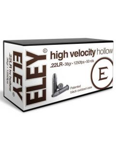 Eley 22LR 38GR High Velocity Hollow Point 1250FPS - 500 Pack