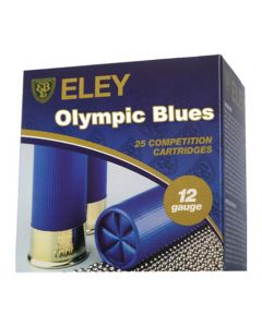Eley Olympic Blues 12G 28GR 8 Shot 1250FPS Competition Cartridges - 25 Pack