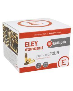 Eley Standard 22LR 40GR Standard Velocity Round Nose Solid 1090FPS - 500 Pack