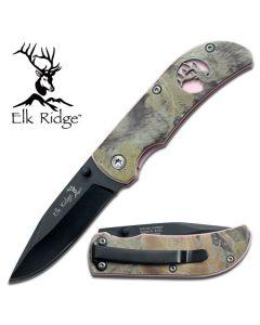 Elk Ridge Ladies Pink Camo Folding Knife