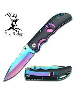 Elk Ridge Gentleman's Rainbow Folding Knife