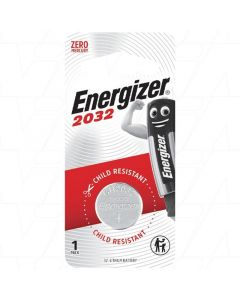 Energizer ECR2032 3V Lithium Coin Cell Battery
