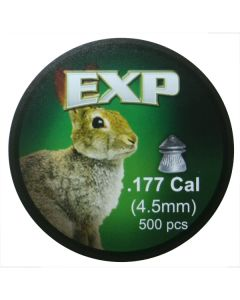 EXP Extra Power Hunting Air Rifle Pellets .177 cal 8.0 gr - 500 Pack