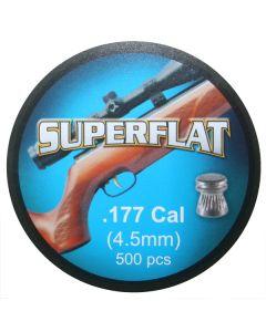 EXP Superflat Air Rifle Pellets .177 cal 7.0 gr - 500 Pack