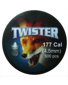 EXP Twister Air Rifle Pellets .177 cal 8.18 gr - 500 Pack
