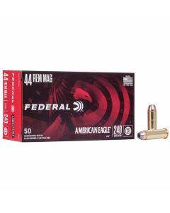 Federal 44 Rem Magnum 240GR JHP 1230FPS American Eagle - 50 Pack