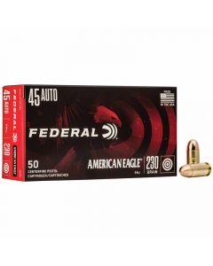 Federal 45 Auto 230GR FMJ 890FPS American Eagle - 50 Pack
