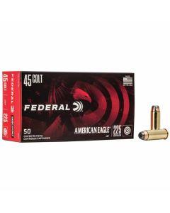 Federal 45 Colt 225GR JSP 860FPS American Eagle - 50 Pack