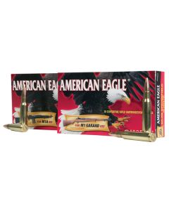 Federal 7.62x51MM 168GR Hollow Point 2650FPS American Eagle - 20 Pack