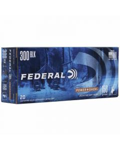 Federal 300AAC Blackout 150GR Soft Point Power-Shok 1900FPS - 20 Pack