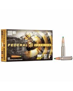 Federal 308 Win 150GR Nosler Ballistic Tip Hunting 2820FPS - 20 Pack